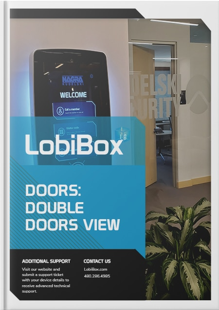 Double Doors View Cover