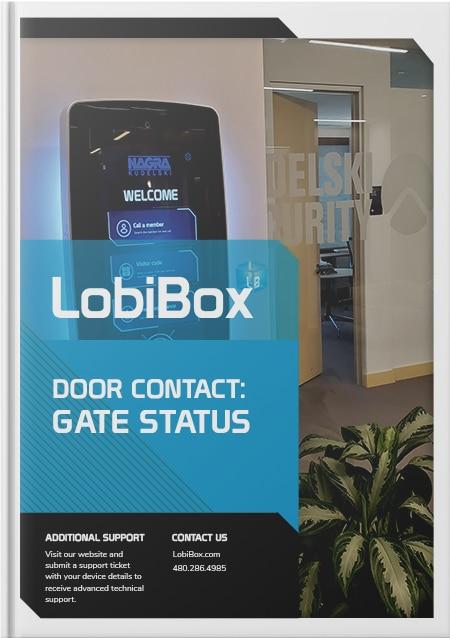 Gate Status Cover