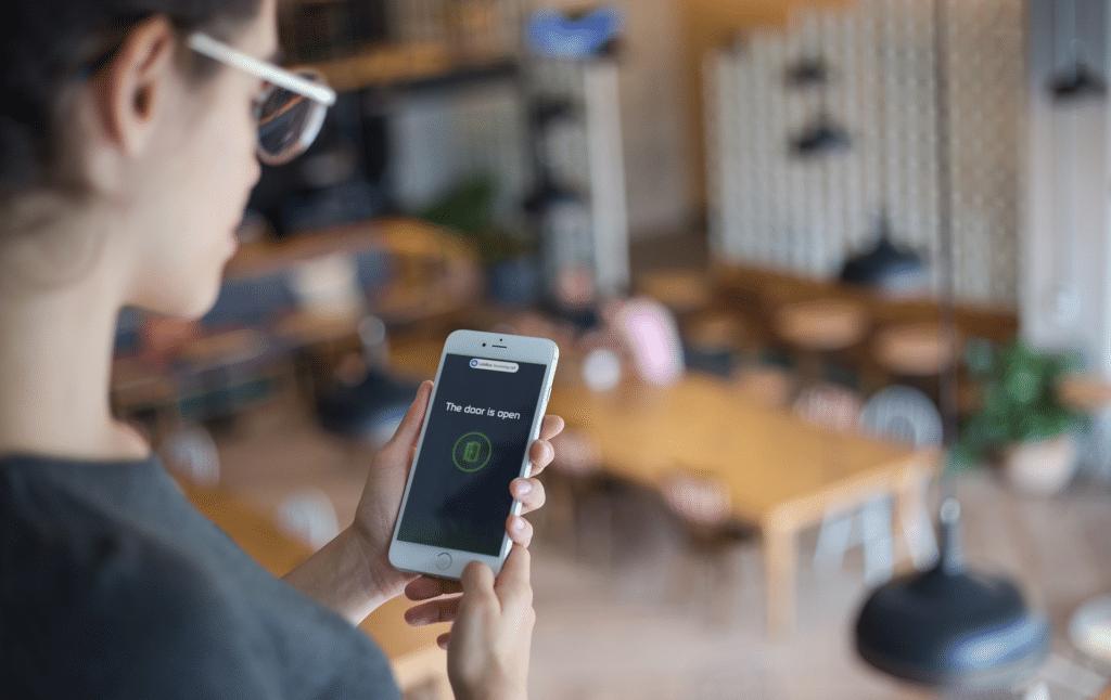 Open Door Feature Within Mobile App