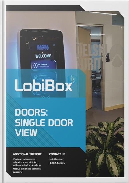 Single Door View Cover