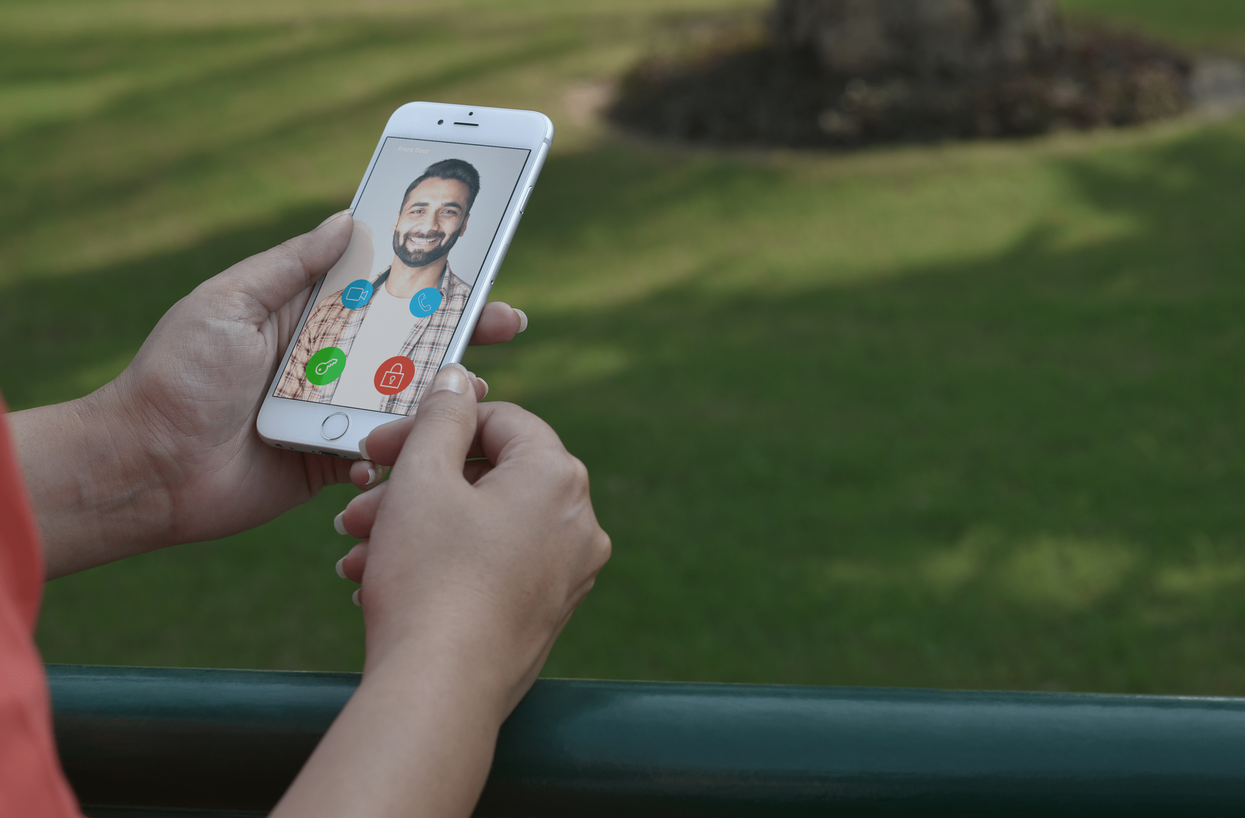verify visitors with video intercom for gated communities